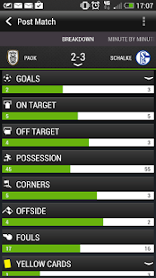 HTC FootballFeed - screenshot thumbnail