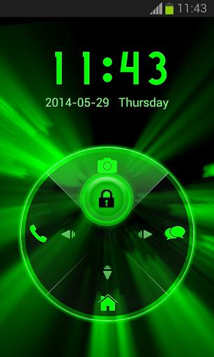 【免費個人化App】霓虹燈綠色儲物櫃-APP點子