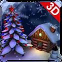 Christmas Snow Globe 3D icon