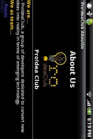 Pro!dea Club- screenshot