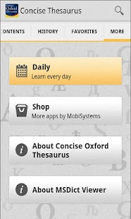 玩書籍App|Concise Oxford Thesaurus免費|APP試玩