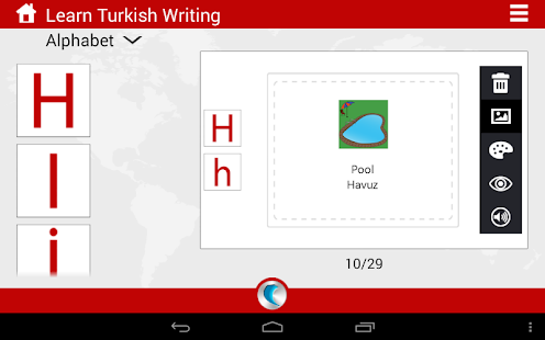 turkish writing Google's free service instantly translates words, phrases, and web pages between english and over 100 other languages.