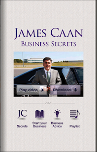 James Caan Business Secrets - screenshot thumbnail