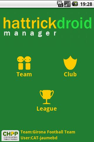 HattrickDroid Manager - screenshot