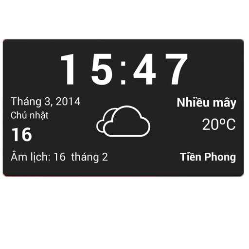 Vietnamese weather widget 天氣 LOGO-阿達玩APP