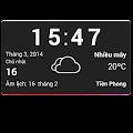 Download WEATHER Vietnamese weather widget APK