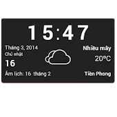 Vietnamese weather widget