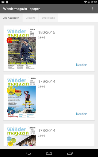 【免費新聞App】Wandermagazin - epaper-APP點子