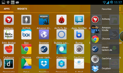 Bubble Launcher XDA (FREE)- screenshot thumbnail