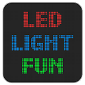LED Light Fun – novelty app to create scrolling marquee & police sirens or use as flashlight