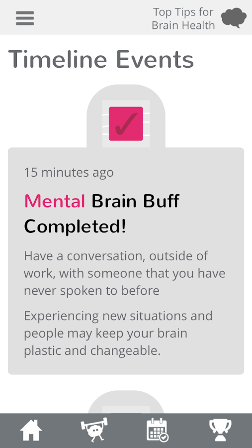 Hello Brain Health- screenshot