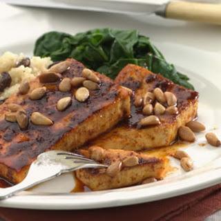 Spice-Crusted Tofu.