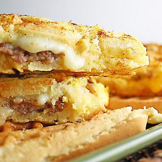 Stuffed French Toast Waffle Panini