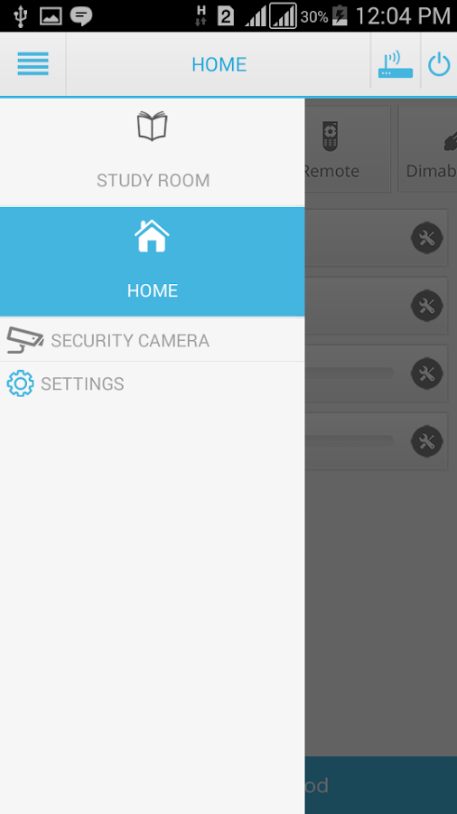 Home Automation System- screenshot