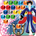 Japan bubble shooter icon