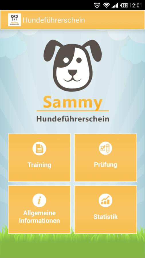 hundef hrerschein sammy android apps on google play. Black Bedroom Furniture Sets. Home Design Ideas