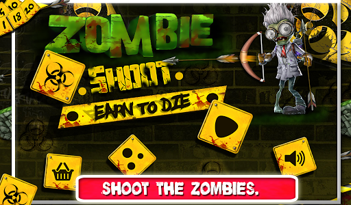 3D Zombie Shoot : Earn to Die