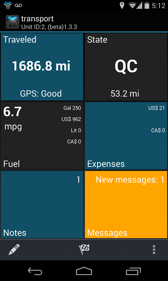 TruxTrax Free Vehicle Tracker- screenshot