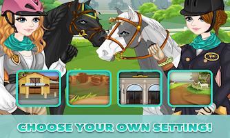 Screenshot of Horse Dress Up – horse game