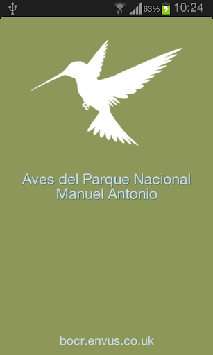 Bird Guide - Manuel Antonio NP
