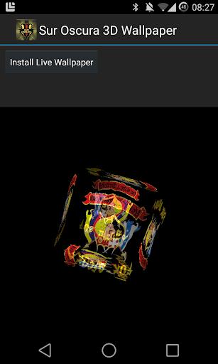 Sur Oscura 3D Live Wallpaper