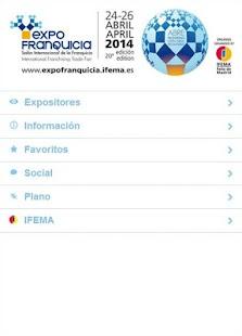 EXPOFRANQUICIA 2014 - screenshot thumbnail