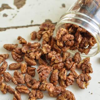 Cinnamon Maple Pecans