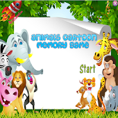 Animals Cartoon Memory Game