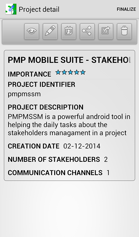 PMP Mobile Suite SM- screenshot