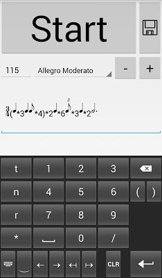 Rhythmic Metronome - screenshot