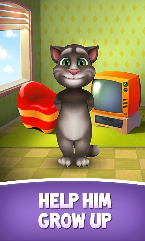 My Talking Tom - screenshot