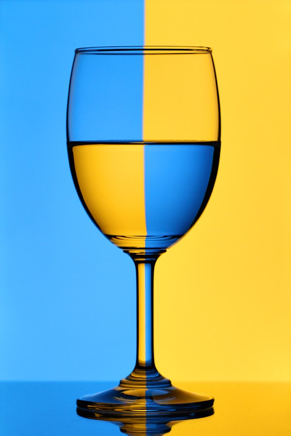 Refraction by Ramakant Sharda - Artistic Objects Still Life ( mirror, color, glass, reflaction )