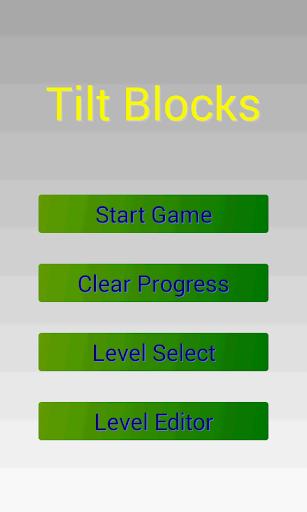 Tilt Blocks