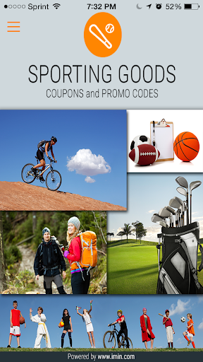 Sporting Goods Coupons-I'm In