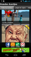 Screenshot of Grandes Acertijos, Adivinanzas