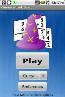 Math Wizard Lite - screenshot thumbnail
