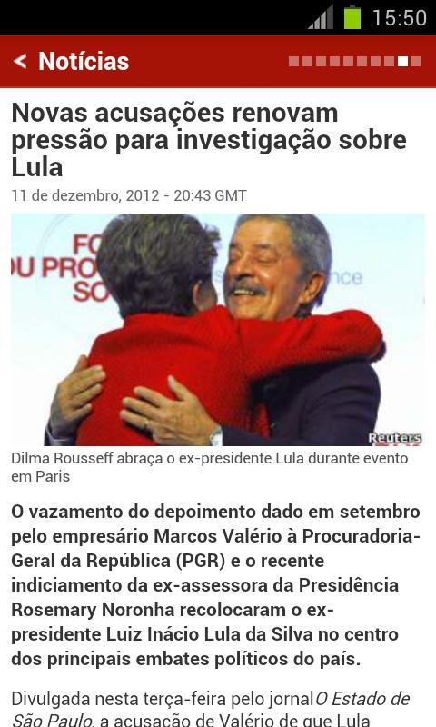 BBC Brasil - screenshot