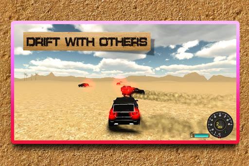 沙漠SUV的Safari模擬器