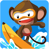 Monkey Surfer