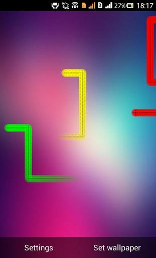 Nexus Line Live Wallpaper