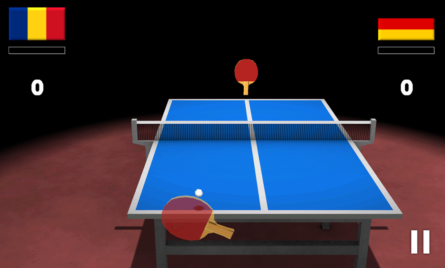 Virtual Table Tennis 3D- screenshot