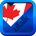 uTalk Canadian English icon