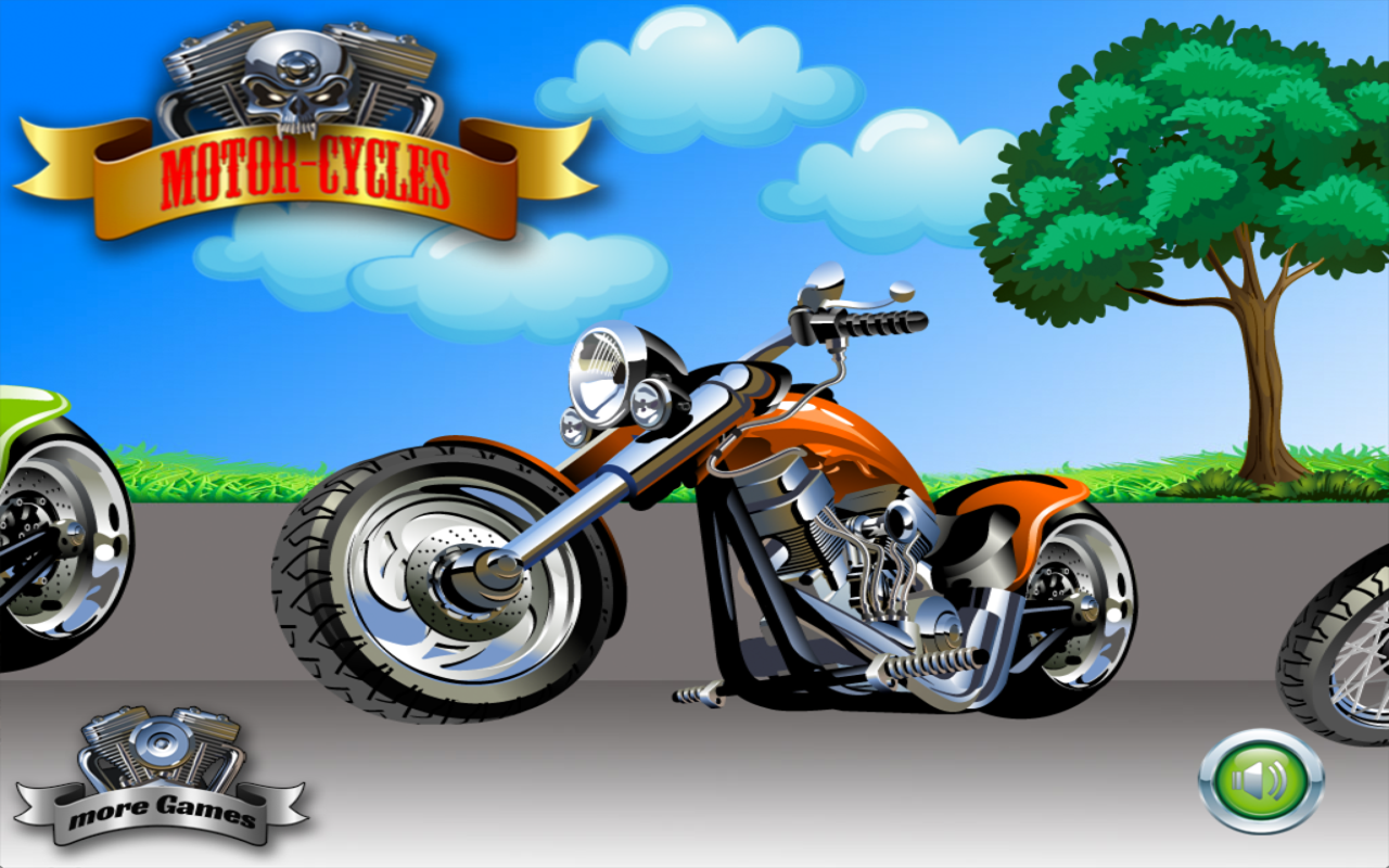 Motorcycles for Toddlers- screenshot