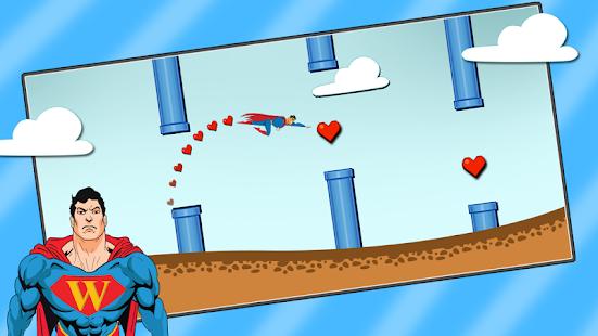 Flappy Superman HD