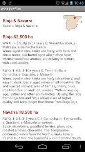 Wine Profiles- screenshot thumbnail