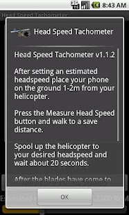 Head Speed Tachometer - screenshot thumbnail