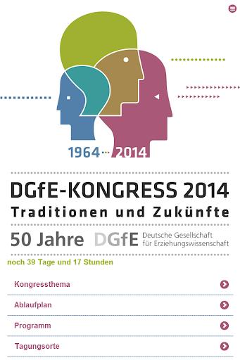 24. Kongress der DGfE 2014