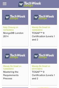 TechWeekEurope.co.uk- screenshot thumbnail