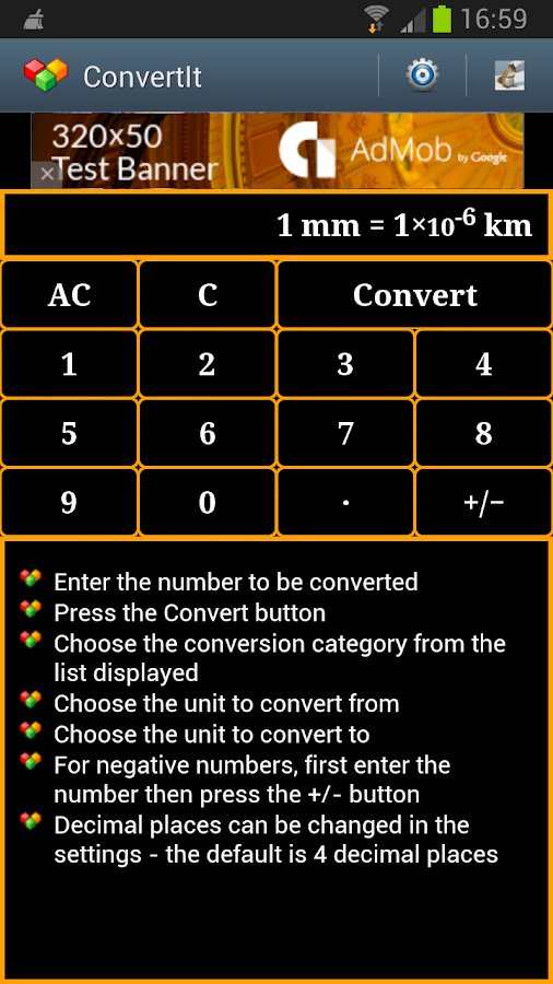 ConvertIt - Unit Converter - screenshot