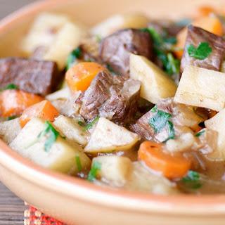 Basic Beef Stew.